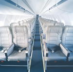 Интерьер Bombardier CRJ-900