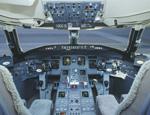 Кабина Bombardier CRJ-700