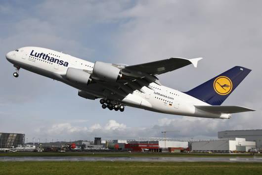 Верхняя палуба самолета А380